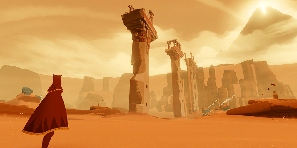 Journey, the critically acclaimed indie game, is available now on the App Store