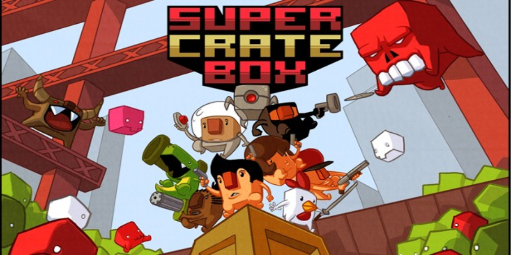 The excellent GameClub resurrects Vlambeer's Super Crate Box
