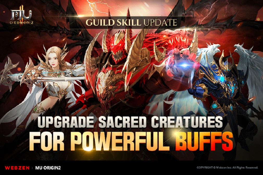 Latest update for acclaimed MMO MU Origin 2 adds new bosses and maps