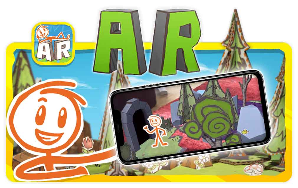 The hugely creative Draw a Stickman: AR is now available for iOS devices