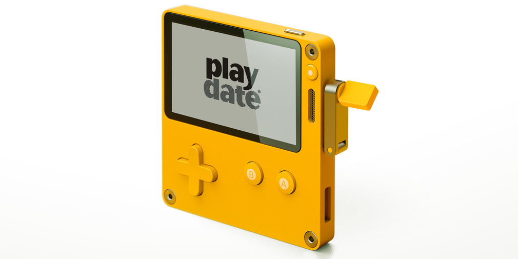 Playdate is a pocket-sized example of the future of handheld consoles