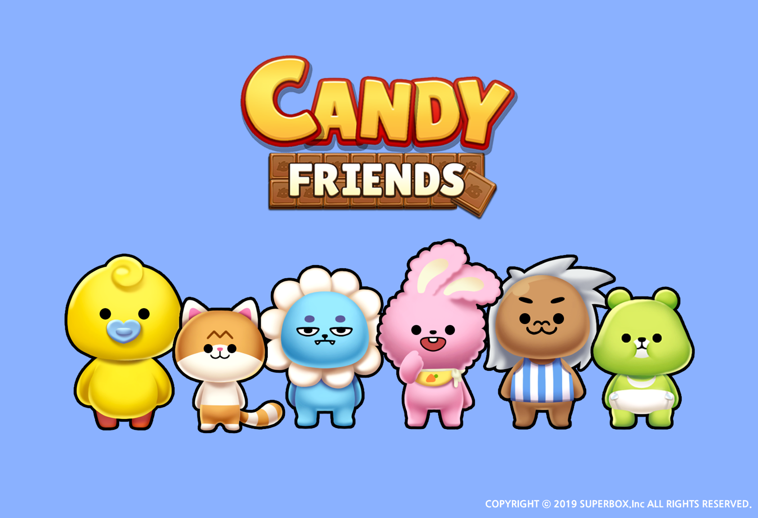 Dazzling match-3 puzzler Candy Friends launches for iOS and Android