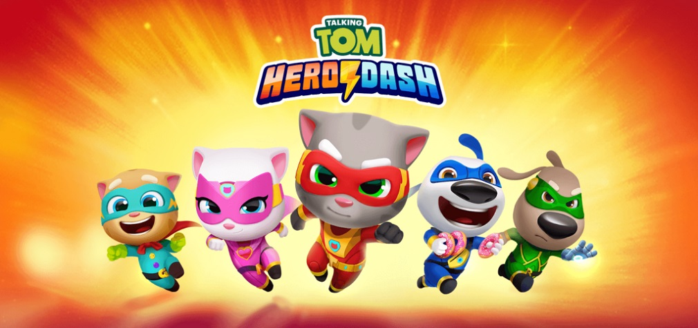 Superhero-themed Talking Tom Hero Dash surpasses 2 million pre-registrations