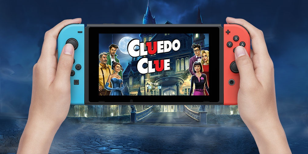 CLUEDO comes to Switch with a new local multiplayer mode and Sherlock-themed add-on