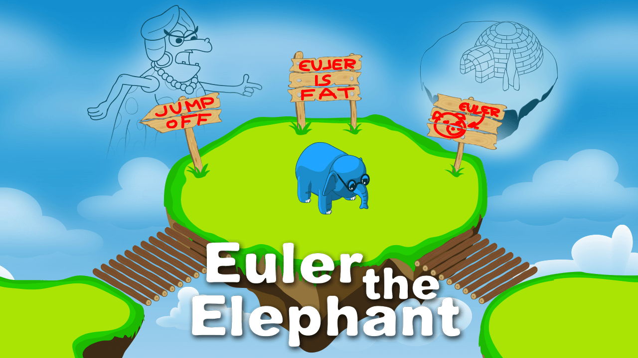 Eulerian inspired puzzler Euler the Elephant is available now for mobile