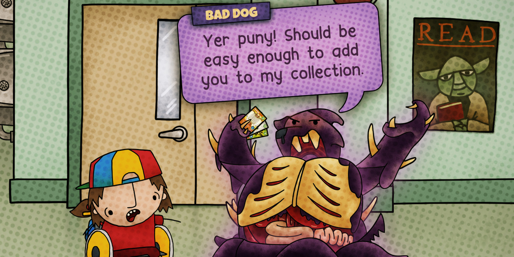 Save the world and the school in Apple Arcade exclusive, mega-pet CCG Cardpocalypse