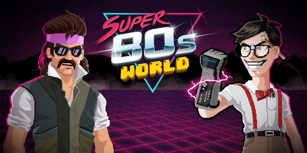 Super 80s World brings its pixel-based platforming to Android