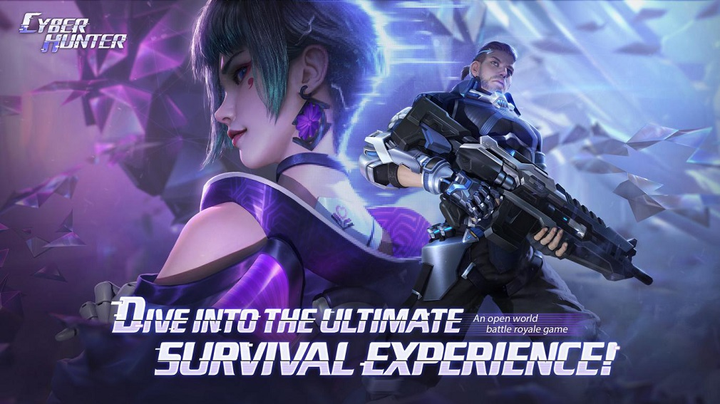 Cyber Hunter is mobile's futuristic take on Battle Royale with parkour at the centre of it