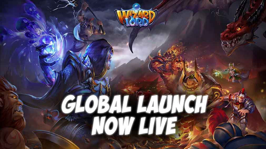 Gorgeous RTS deck-building adventure WizardLord launches globally on iOS and Android