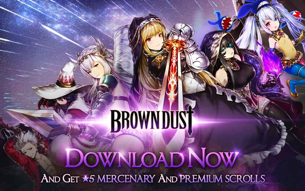 Stunning tactical RPG Brown Dust launches globally for iOS and Android