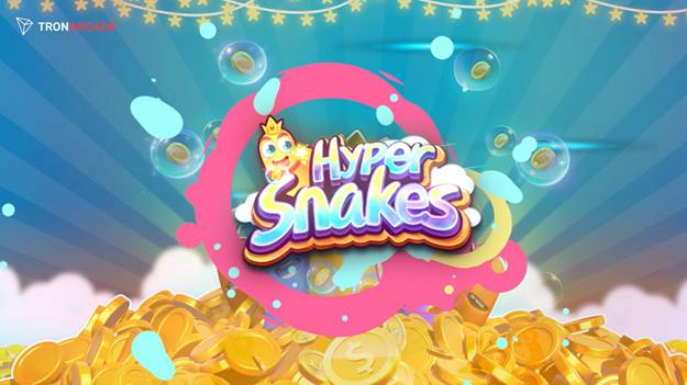 Raise the stakes in Hypersnakes – the new blockchain game from TRON Arcade
