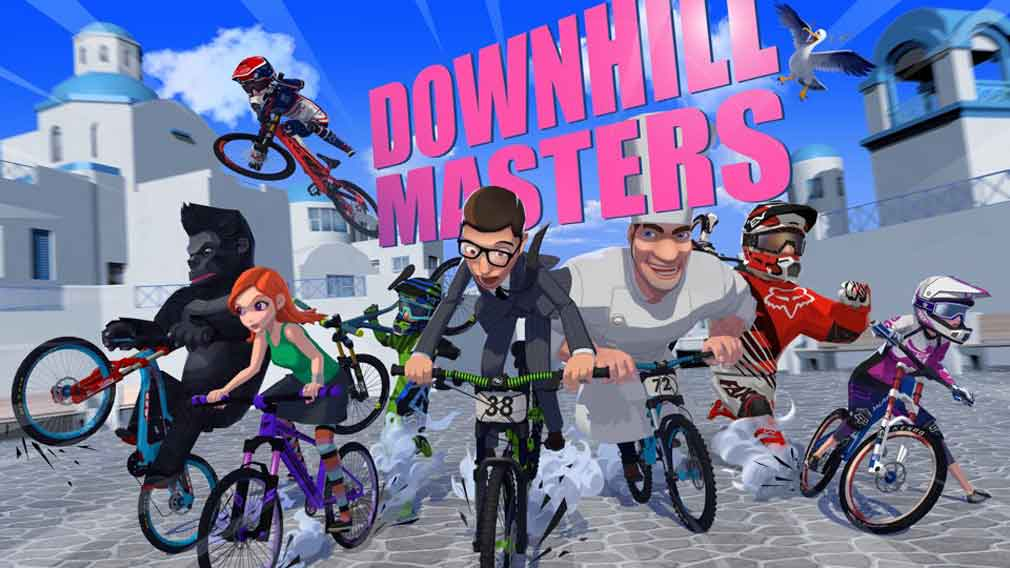 Getting to grips with Downhill Masters for Android