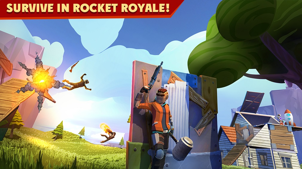 Rocket Royale puts an inventive spin on the battle royale formula