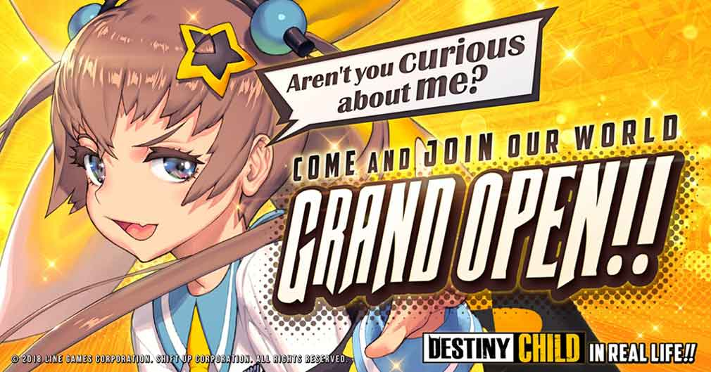 Narrative-based CCG Destiny Child is now available worldwide