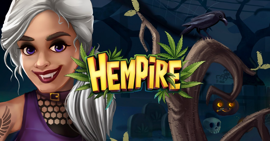 Weed farming game Hempire deals out a Halloween update