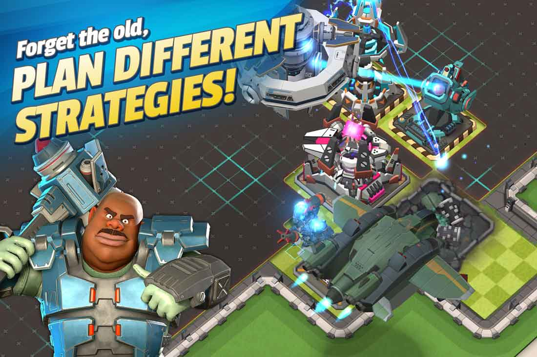 5 innovations that Mad Rocket brings to base building strategy games