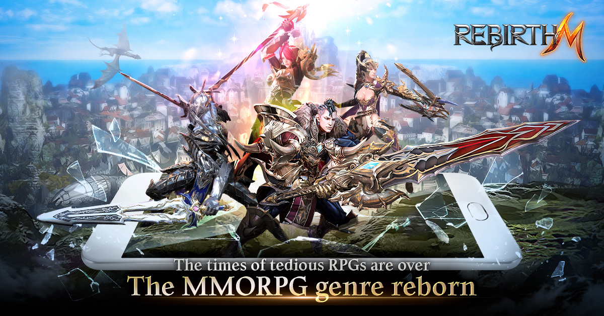 Mobile MMORPG RebirthM goes live in Brazil ahead of its global release