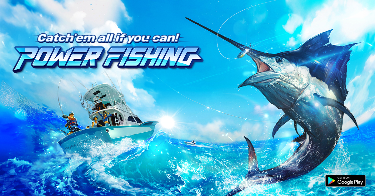 See what you can catch in Power Fishing, out now on Android