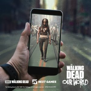 Get ready to take out Walkers in real life when The Walking Dead: Our World launches in July