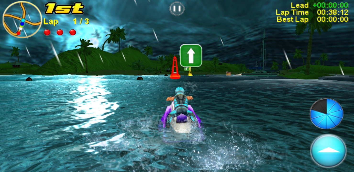 Aqua Moto Racing 2 splashes down on Android