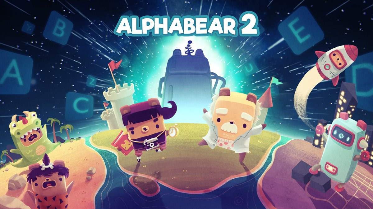 New iOS and Android games out this week - Alphabear 2, Returner Zhero, Doctor Who Infinity, and more