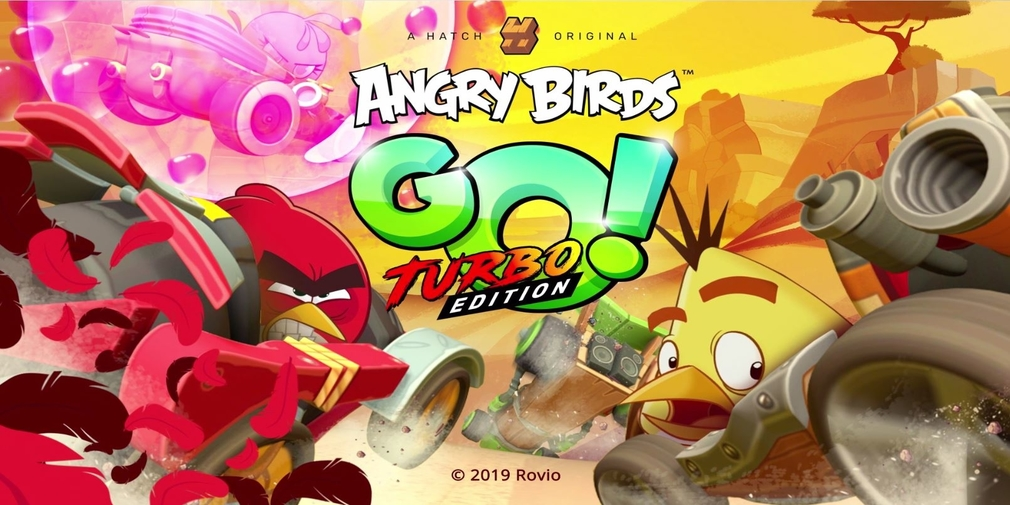 Angry Birds Go! Turbo Edition is exclusive to cloud gaming service Hatch, available now