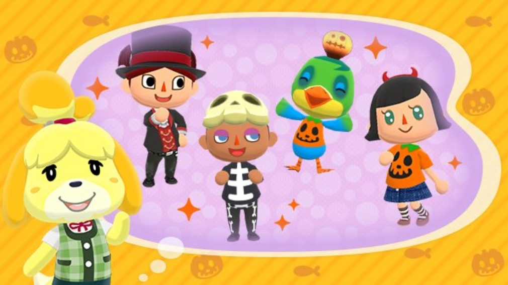 Animal Crossing: Pocket Camp brings us some Halloween-themed fishing