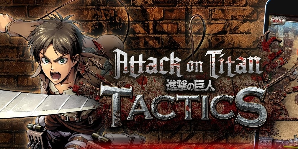 Attack on Titan Tactics is available for iOS and Android now in the US, Canada and Australia