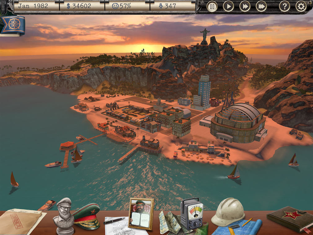 Become the ultimate ruler now that Tropico is out on iPad