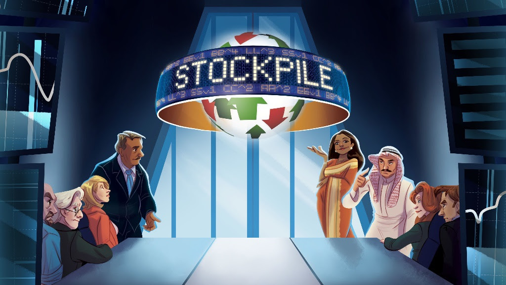 Earn yourself an upsetting amount of money in board game adaptation Stockpile for iOS and Android