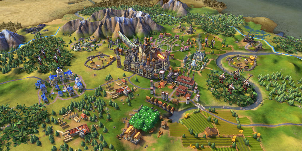 Civilization VI Rise and Fall now available on iOS, Gathering Storm due later this year