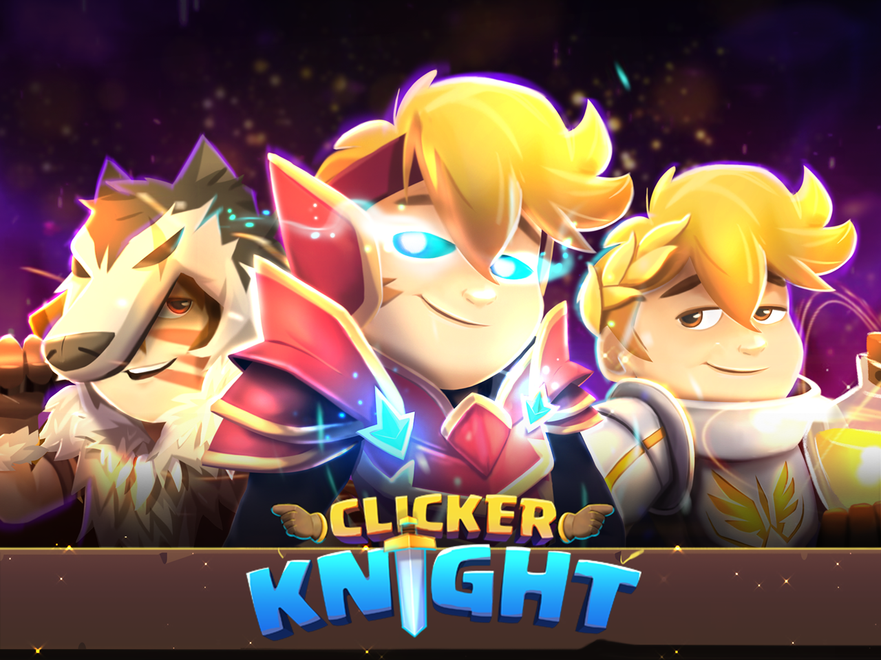 Clicker Knight is an essential idle RPG, out now on Android
