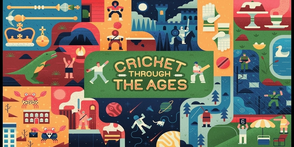 Cricket Through the Ages, a physics game that