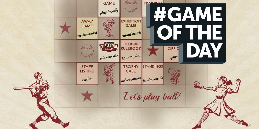 GAME OF THE DAY - Bottom of the 9th is a baseball board game that appeals to everyone