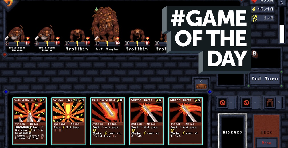 GAME OF THE DAY - Card Quest is pretty much the perfect single player card adventure