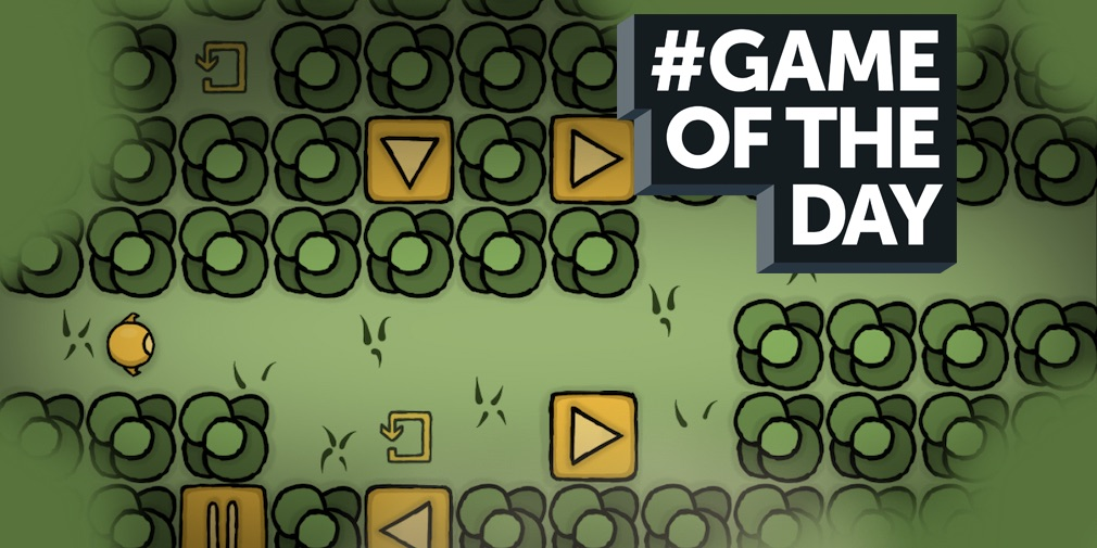 GAME OF THE DAY - One More Button is a puzzler that makes its controls part of the experience