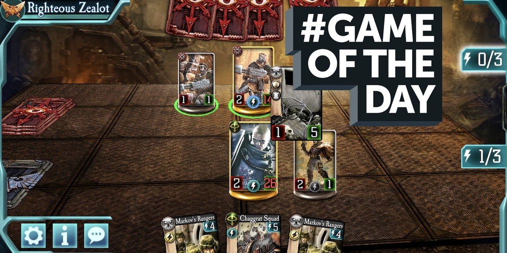 GAME OF THE DAY - The Horus Heresy: Legions is a grim deckbuilder with an awesome community