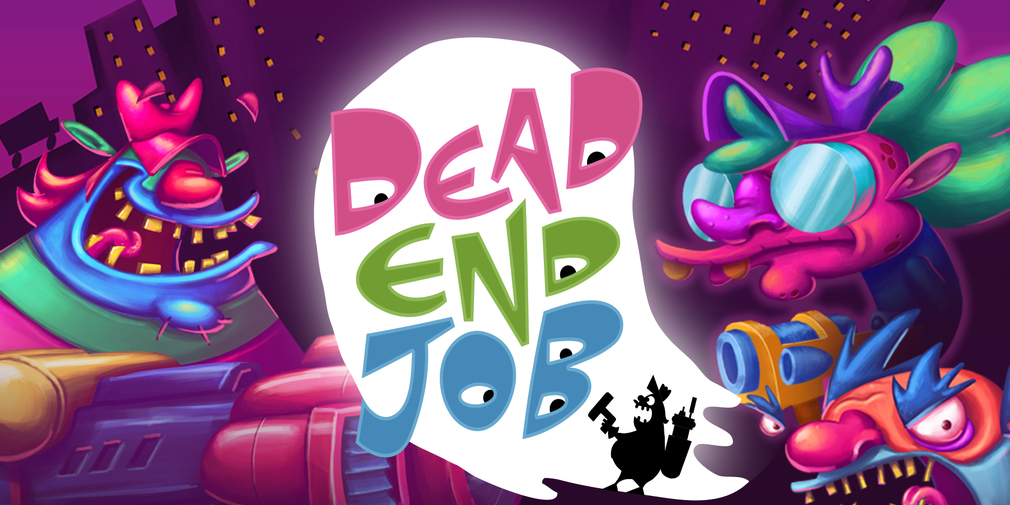 Dead End Job is a twin-stick shooter where you play as a supernatural pest control worker that