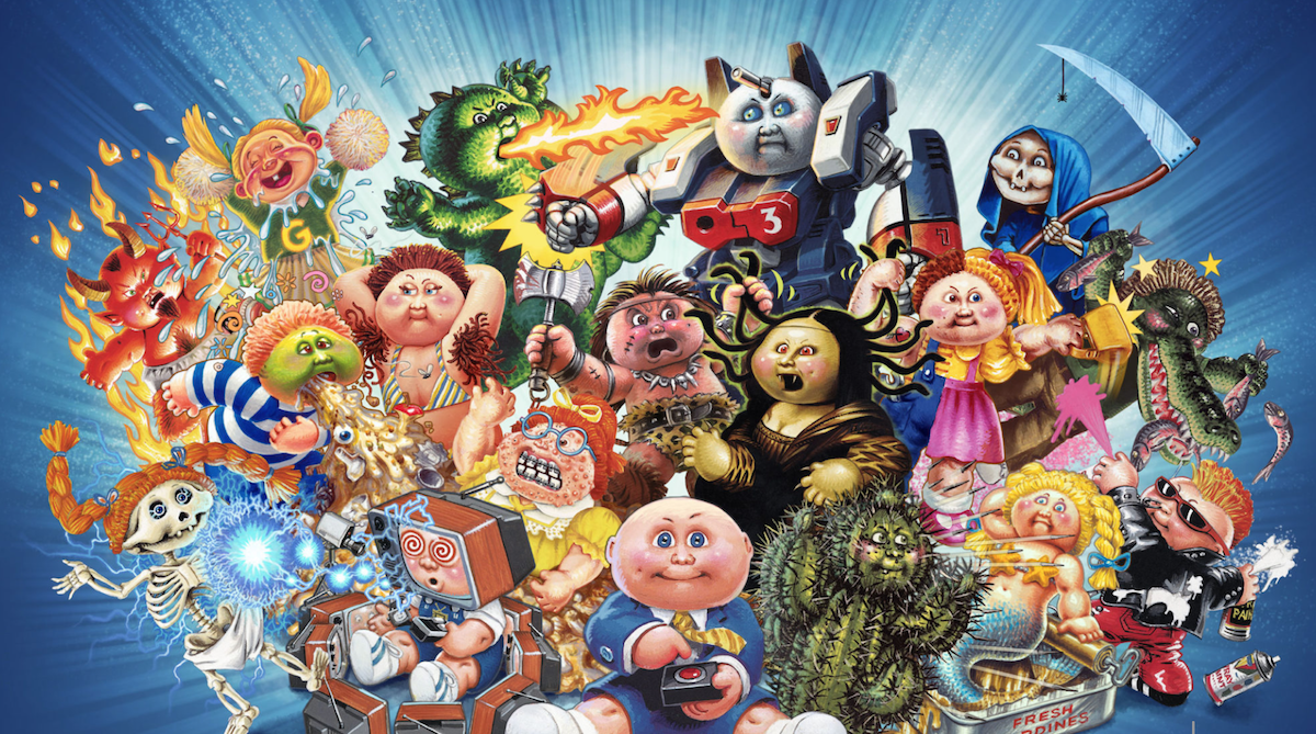 You might get the chance to play Garbage Pail Kids: The Game early