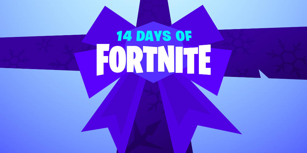 Epic Games is celebrating a successful year with 14 Days of Fortnite