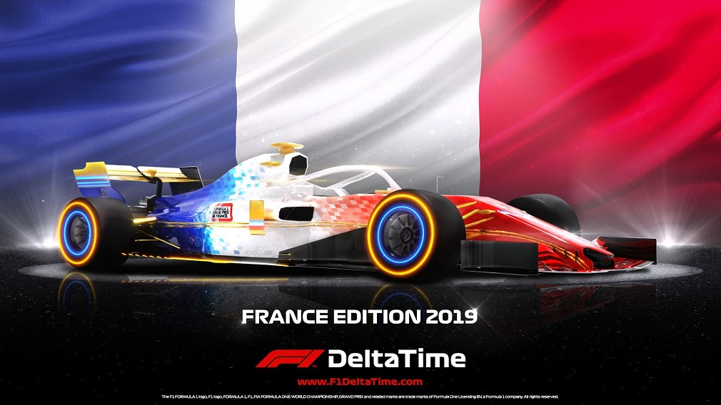F1 Delta Time hosts a special auction in celebration of this year's Formula 1 French Grand Prix