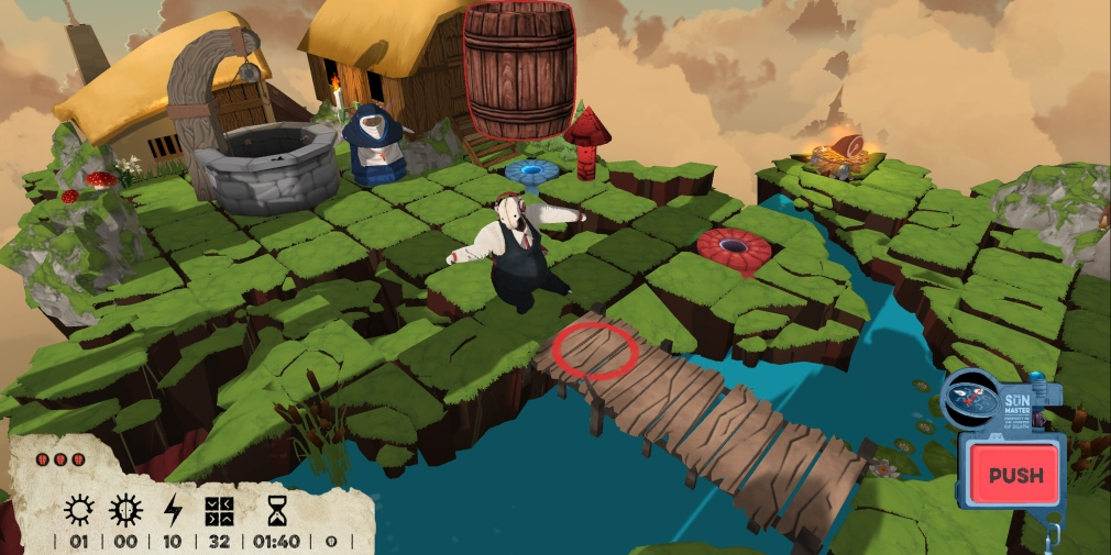 Felix The Reaper is a quirky puzzle game that