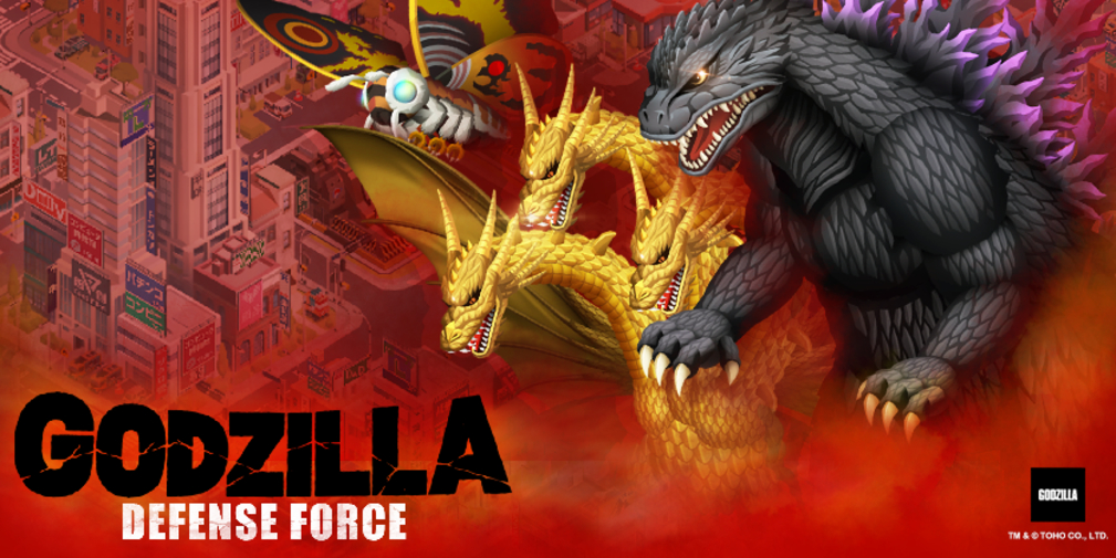 Godzilla Defense Force releases worldwide for iOS and Android