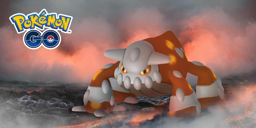 Heatran makes its legendary debut in Pokemon GO