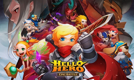 Hello Hero Epic Battle is winging its way to the West