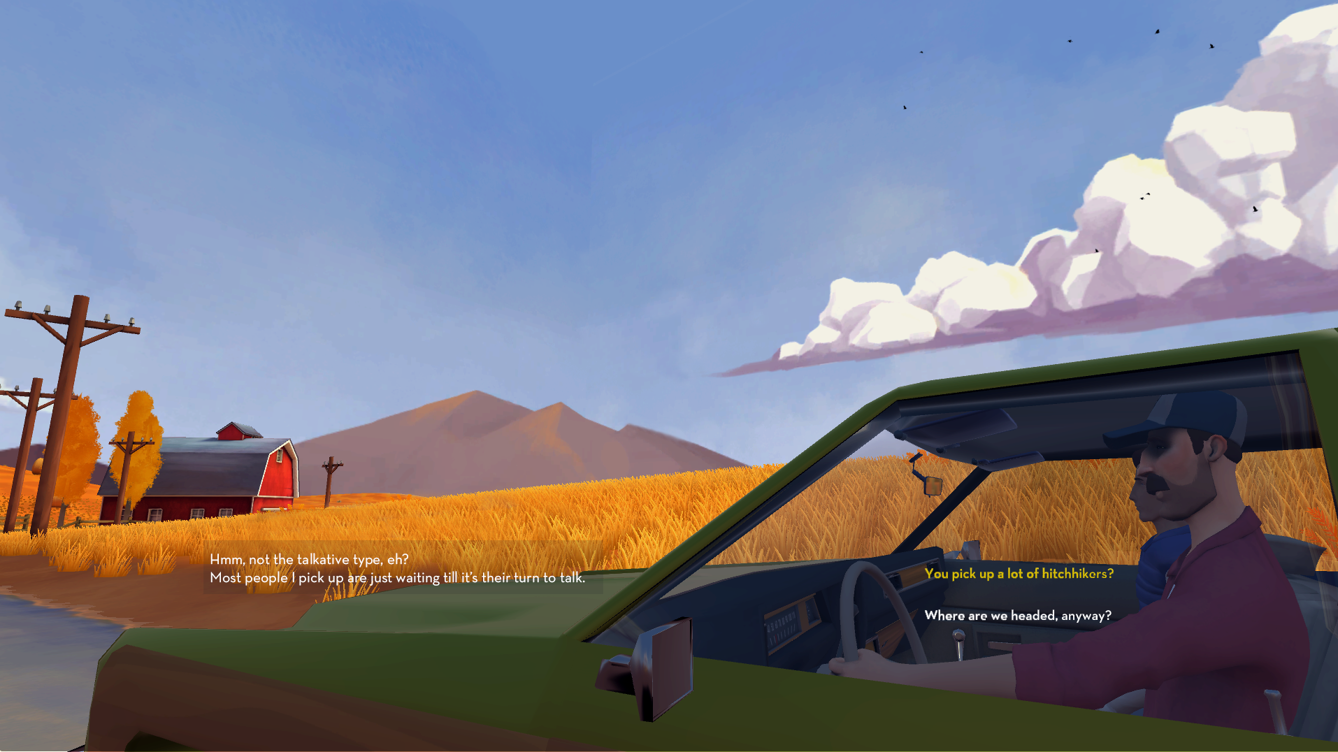 Hitchhiker is an uncanny roadtrip riding onto Apple Arcade later this year