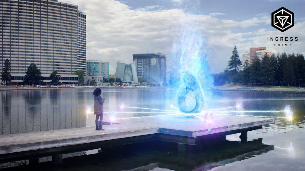 Ingress Prime is a new AR game by