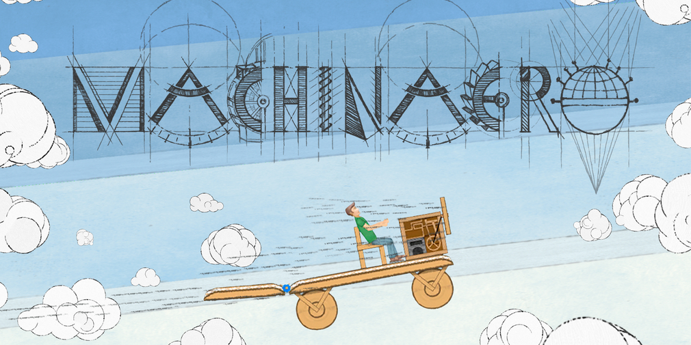 Machinaero is 2D vehicle invention game that