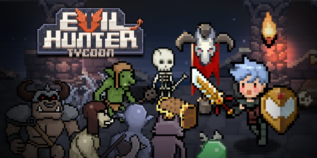 Evil Hunter Tycoon is a town management sim for iOS and Android where you
