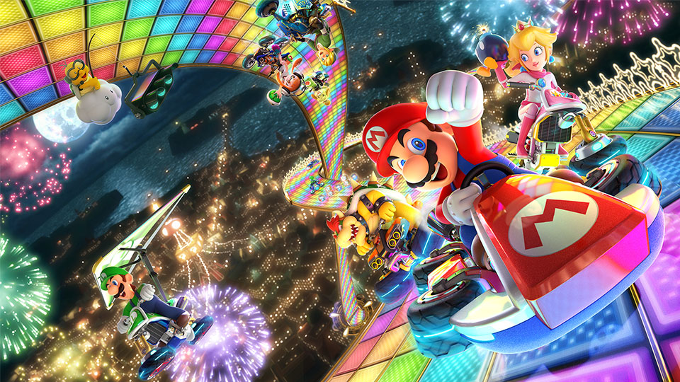 Mario Kart 8 Deluxe is pretty cheap on the UK Switch eShop right now